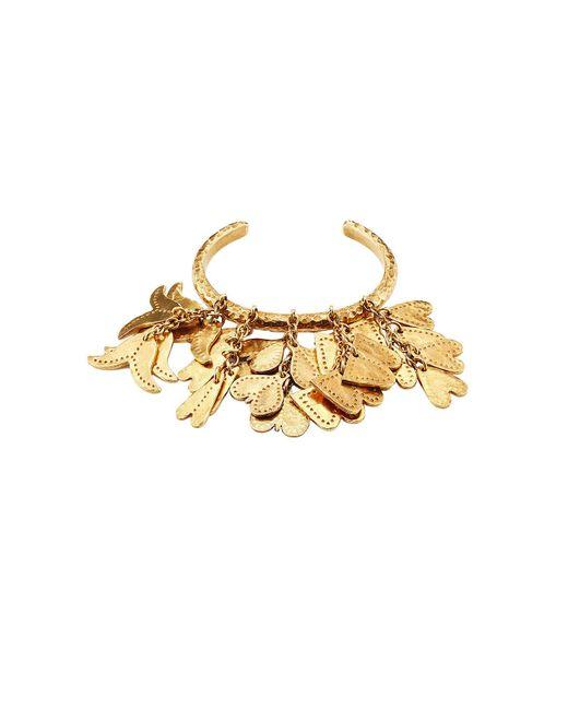 Chloé - Metallic Gold-tone Bracelet - Lyst