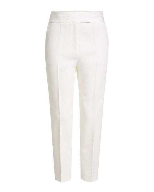 By Malene Birger | White Crepe Pants | Lyst