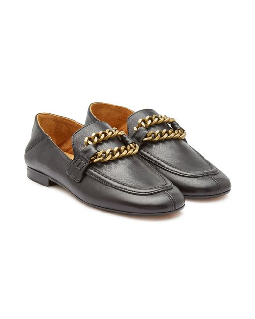 f45cf21bf8e Isabel Marant - Multicolor Firlee Leather Loafers - Lyst ...