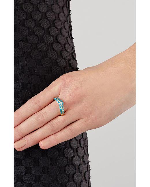 Aurelie Bidermann | Metallic Apache Gold-plated Ring | Lyst