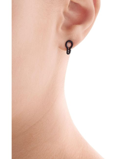 Marc By Marc Jacobs | Black Key Outline Earrings | Lyst
