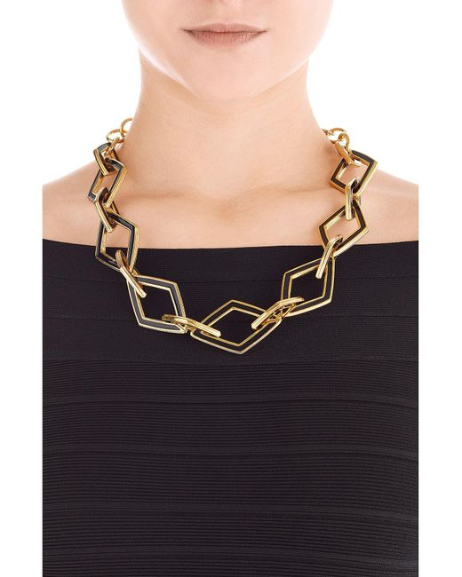 Kenneth Jay Lane | Metallic Statement Necklace | Lyst