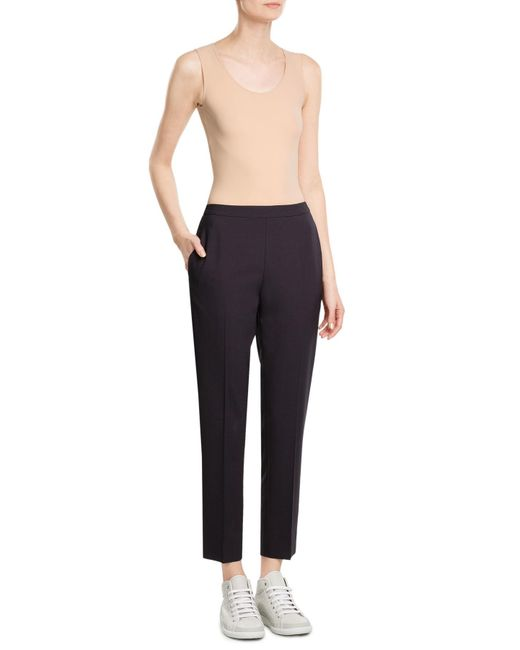 Maison Margiela | Black Draped Trousers | Lyst