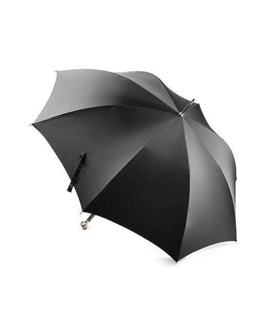 Alexander McQueen | Black Umbrella With Skull Handle | Lyst