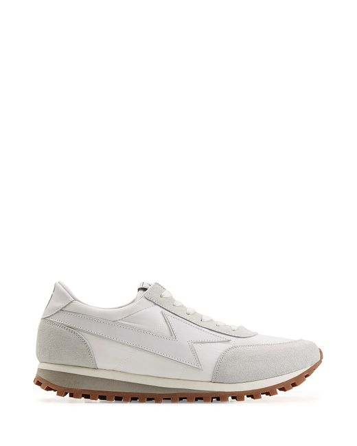 Marc Jacobs | Gray Leather And Suede Sneakers for Men | Lyst