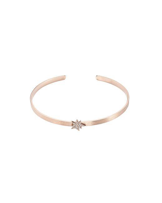Diane Kordas - Multicolor Explosion 18kt Rose Gold Bracelet With White Diamonds - Lyst