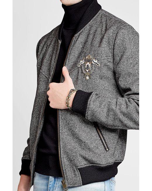 Tod's | Multicolor Braided Leather Wrap Bracelet for Men | Lyst