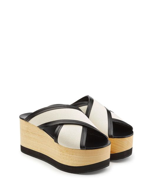 Isabel Marant - Multicolor Wedges With Leather - Lyst