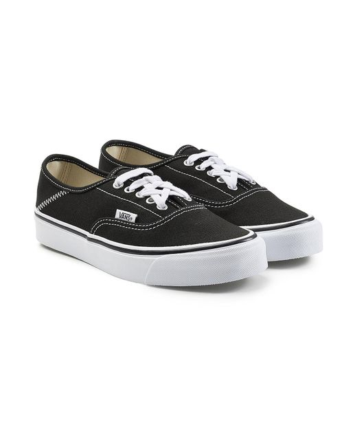 Vans | Black Og Style 43 Authentic Canvas Sneakers | Lyst