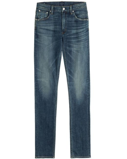 Citizens of Humanity | Blue Straight Leg Jeans for Men | Lyst