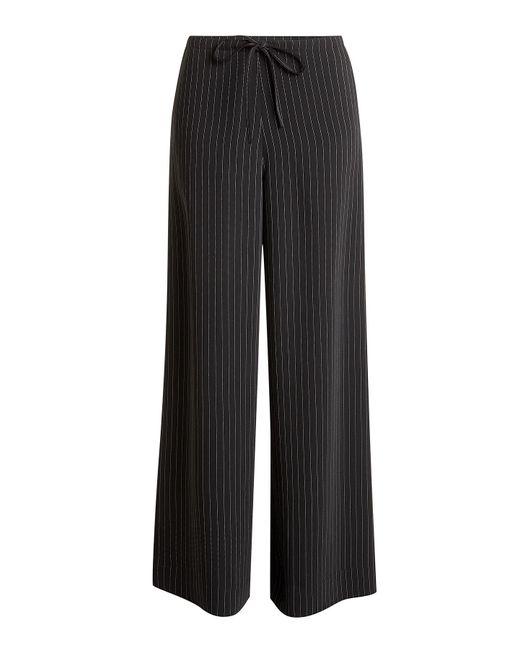 McQ Alexander McQueen - Black Pinstriped Pants - Lyst