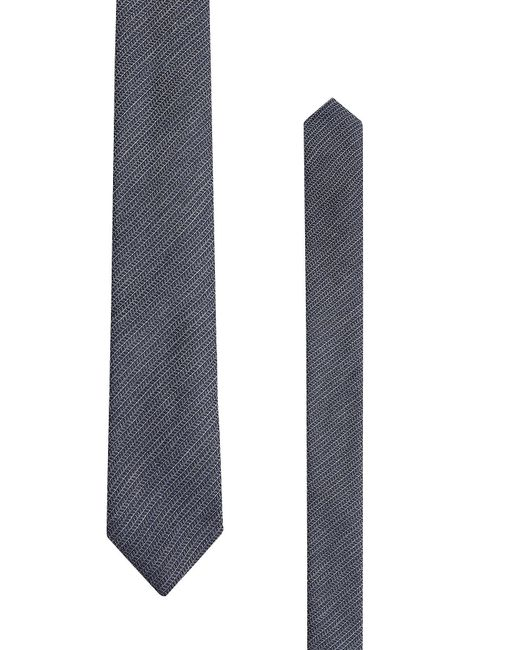 Baldessarini | Blue Printed Wool And Silk Tie for Men | Lyst