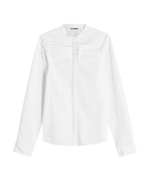 Jil Sander - Multicolor Cotton Shirt - Lyst