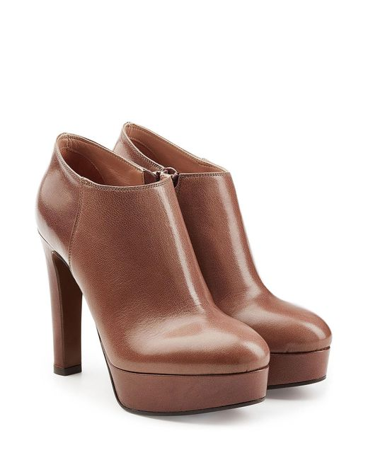 L'Autre Chose - Multicolor Leather Platform Ankle Boots - Lyst