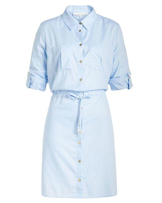 Heidi Klein - Blue Cotton Shirt Dress - Lyst