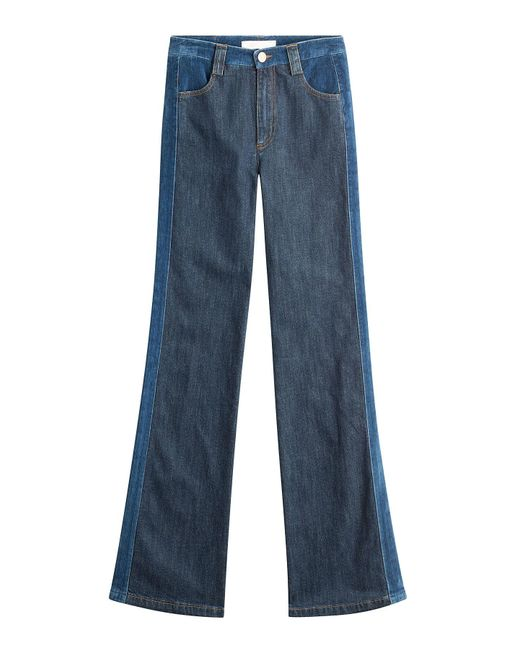See By Chloé - Black Flared Jeans - Lyst