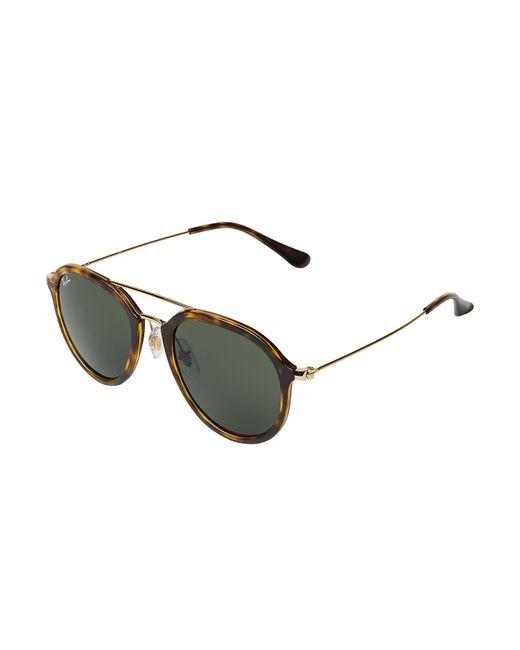 ray ban tortoise shell aviator style sunglasses