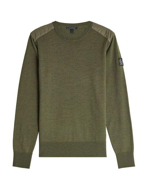 Belstaff - Multicolor Kerrigan Wool Pullover for Men - Lyst