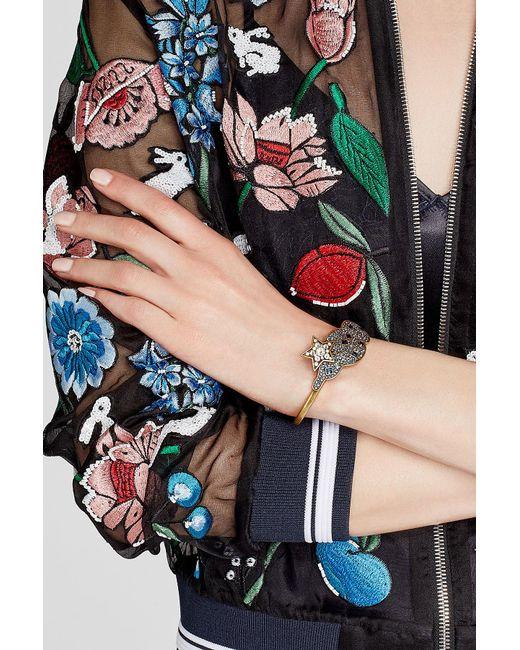 Marc Jacobs | Metallic Embellished Bracelet | Lyst