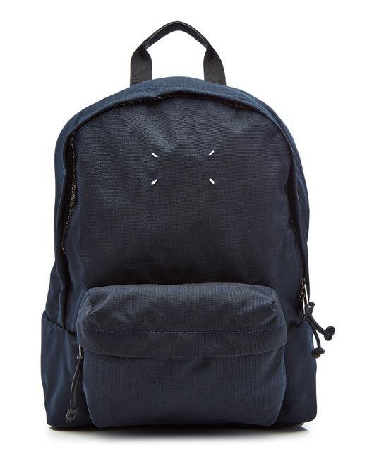 f2727c8101dd Maison Margiela - Blue Denim Backpack for Men - Lyst ...