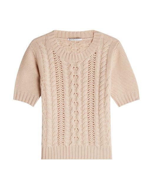Agnona | White Cashmere Top | Lyst