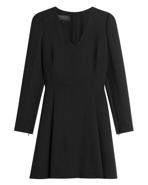 Giambattista Valli - Black Virgin Wool Dress - Lyst