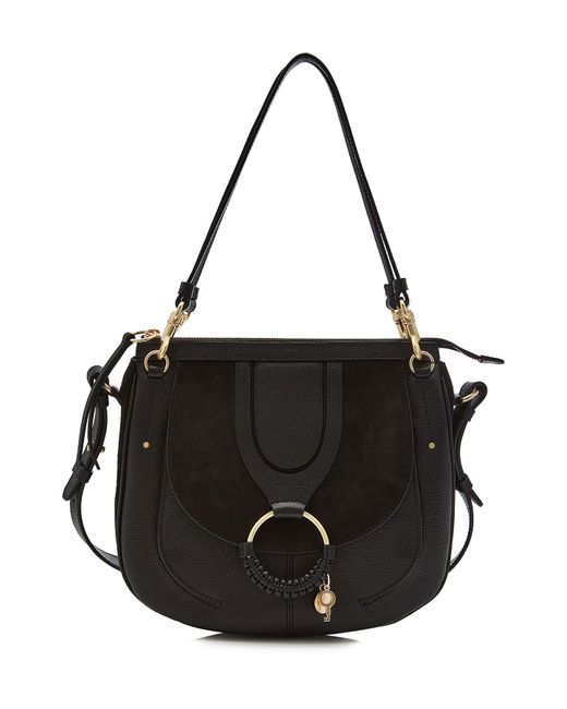See By Chloé - See By Chloé Hana Large Crossbody Bag In Black - Lyst