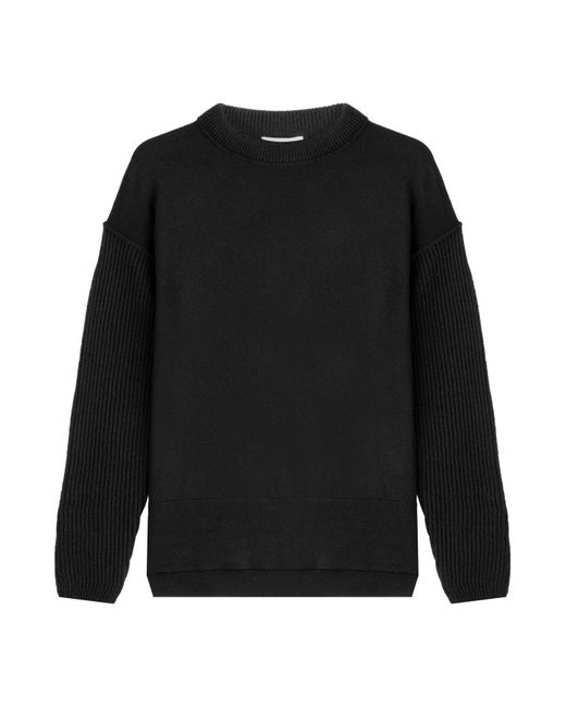 DKNY - Black Pullover With Wool - Lyst
