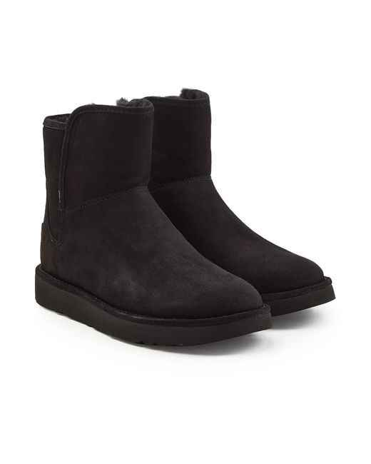 Ugg - Black Abree Mini Suede Boots - Lyst