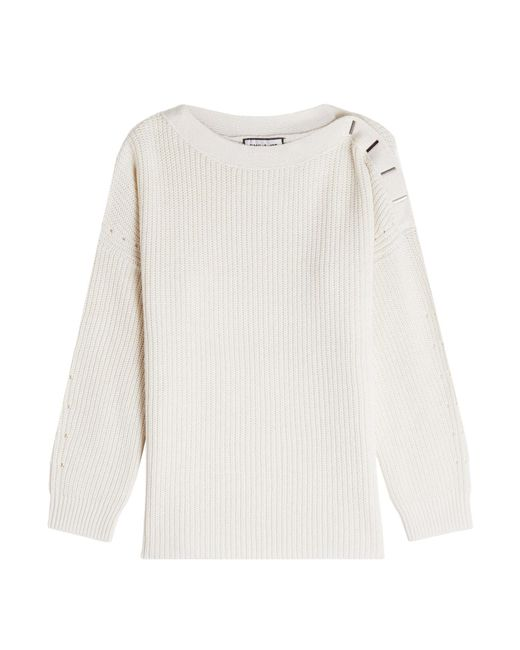 Paul & Joe - Natural Pullover With Wool And Cashmere - Lyst