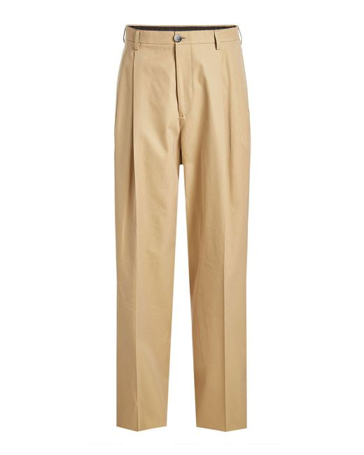Raf Simons - Natural Cotton Chinos for Men - Lyst