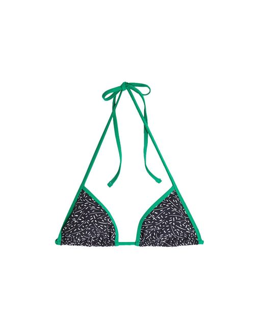 Diane von Furstenberg | Multicolor Reversible Printed Bikini Top | Lyst