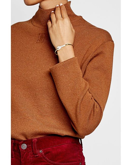 Marc Jacobs   Multicolor Embellished Key Bangle   Lyst