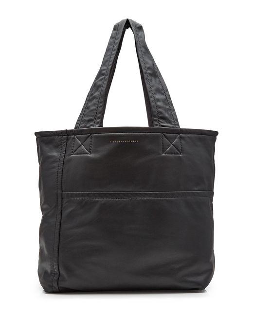Victoria Beckham | Black Mini Sunday Leather Tote | Lyst