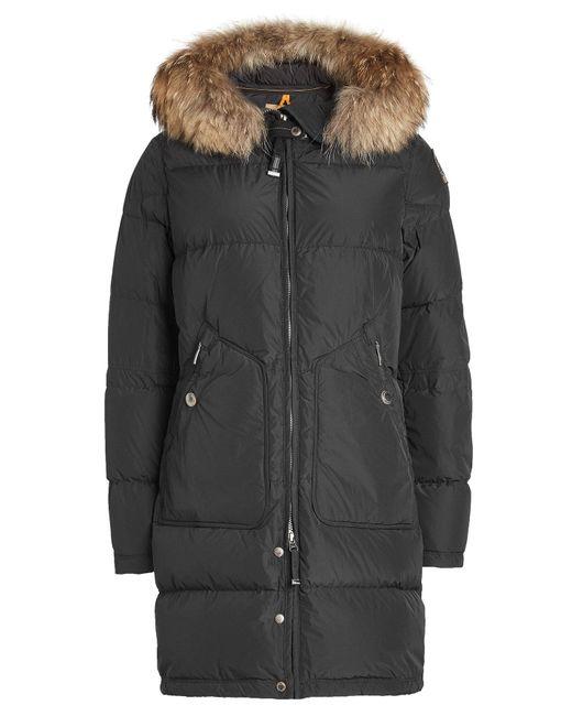 parajumpers light long bear down jacket