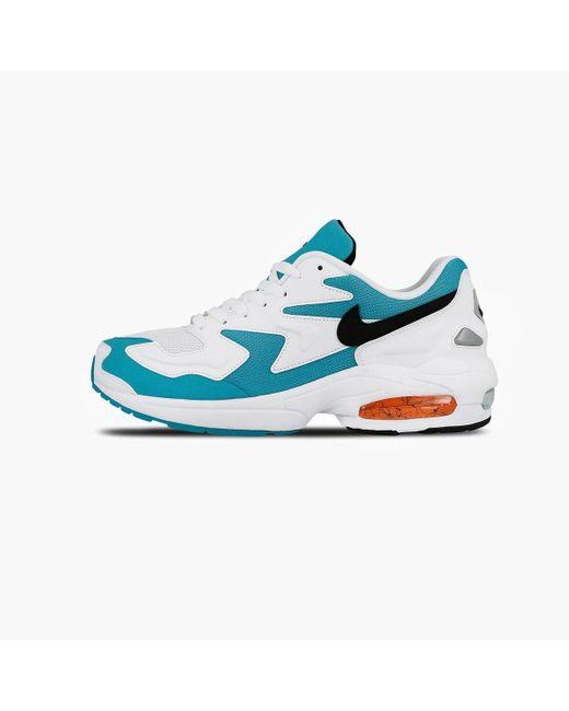 huge discount b59f0 ea6a4 Nike - Blue Air Max2 Light Sneaker for Men - Lyst ...
