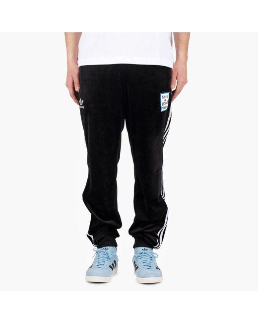 c0e21981 Adidas Originals - Black Adidas Originals X Have A Good Time Velour Tp for  Men ...