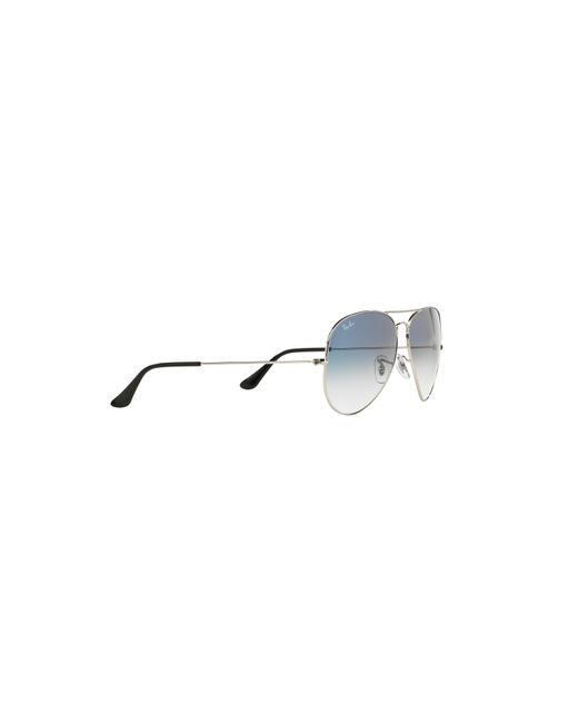 lyst ray ban rb3025 58 original aviator gradient collection in Ray-Ban Wayfarer Sunglasses Gray ray ban blue rb3025 58 original aviator gradient collection for men lyst