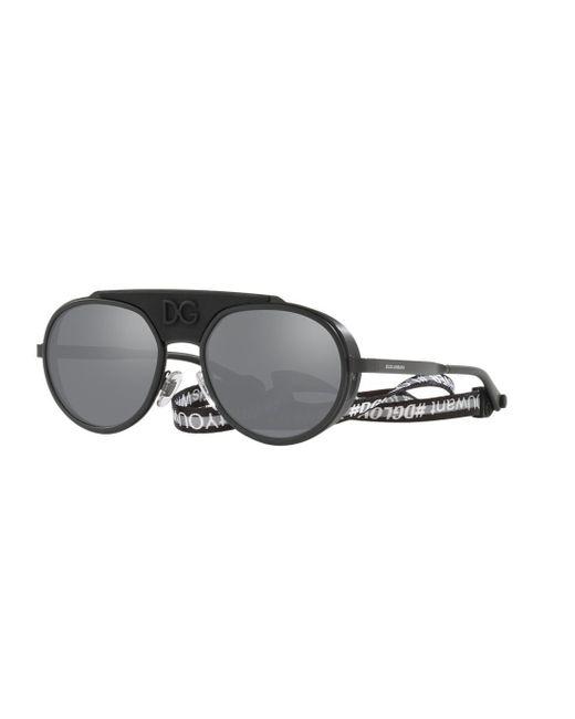 50ae85fe1cf Dolce   Gabbana Dg2210 in Gray for Men - Lyst