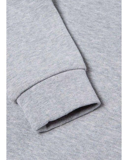 9135f1bbd Sunspel Kids' Cotton Loopback Sweatshirt In Grey Melange in Gray for ...