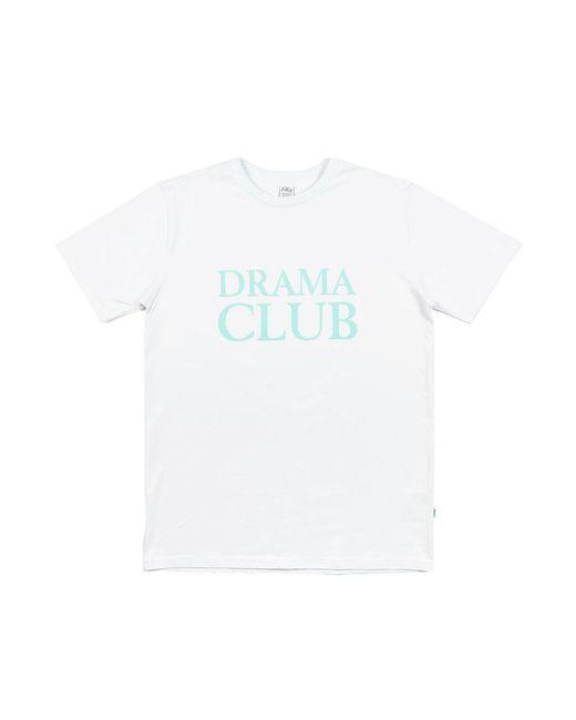 """POST DETAILS - Drama Club T-shirt """"club Logo"""" White for Men - Lyst"""
