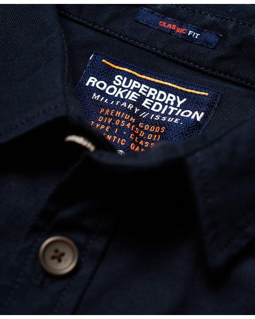 485fb67f1f9 ... Superdry - Blue Trail Shirt for Men - Lyst ...