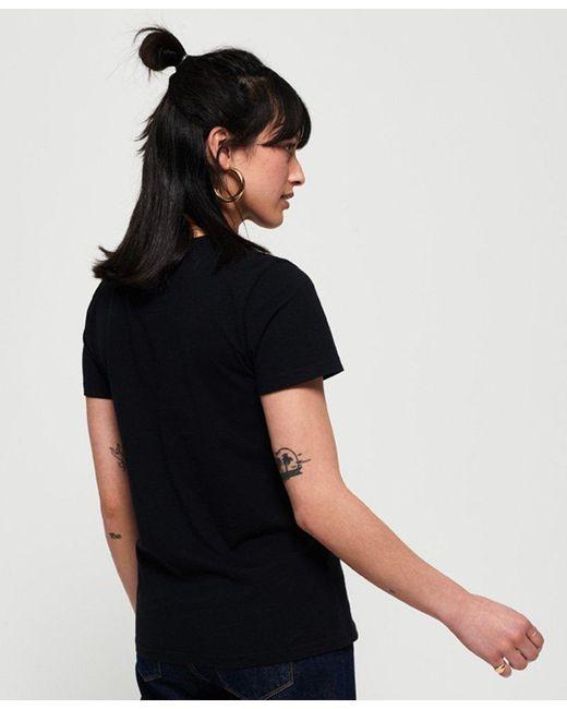 0f6df4a8 ... Superdry - Black Vintage Logo Textured Foil Box T-shirt - Lyst ...