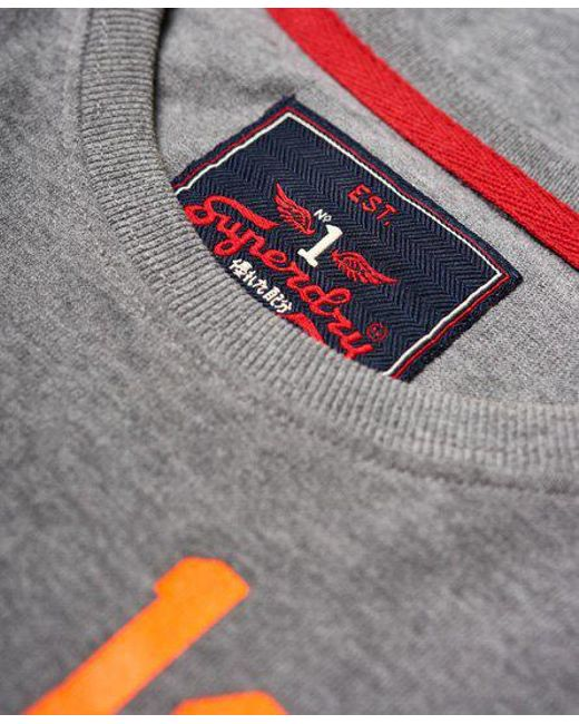 ... Superdry - Gray Famous Flyers Camo T-shirt for Men - Lyst ... 85e444b11