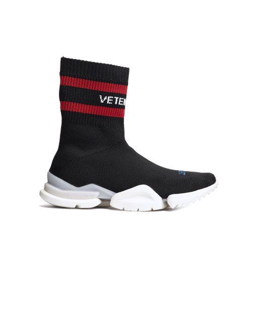 Vetements - Black Reebok Sock Pump - Lyst