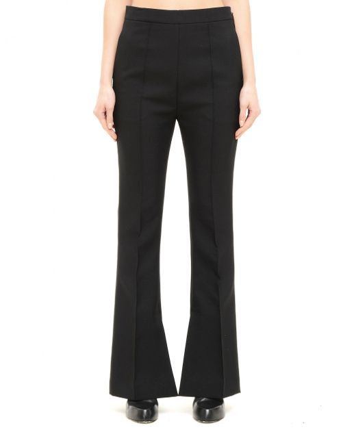 Marni - Black Polyester Trousers - Lyst