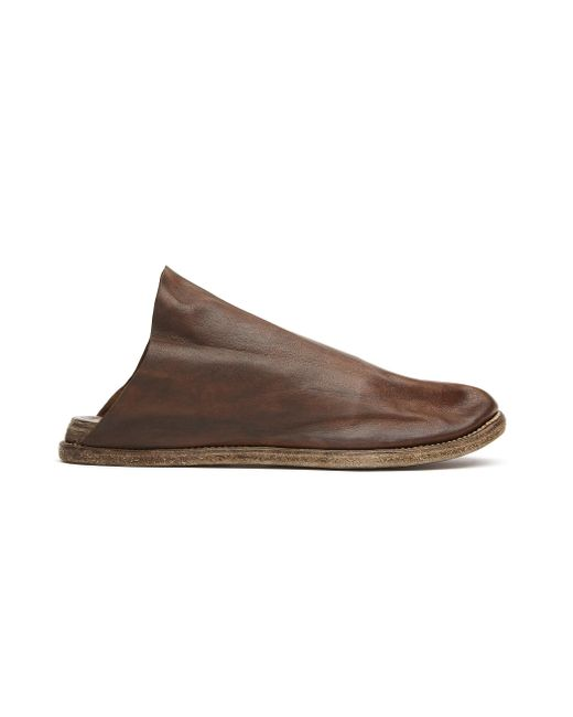 Guidi - Brown Leather Slides for Men - Lyst