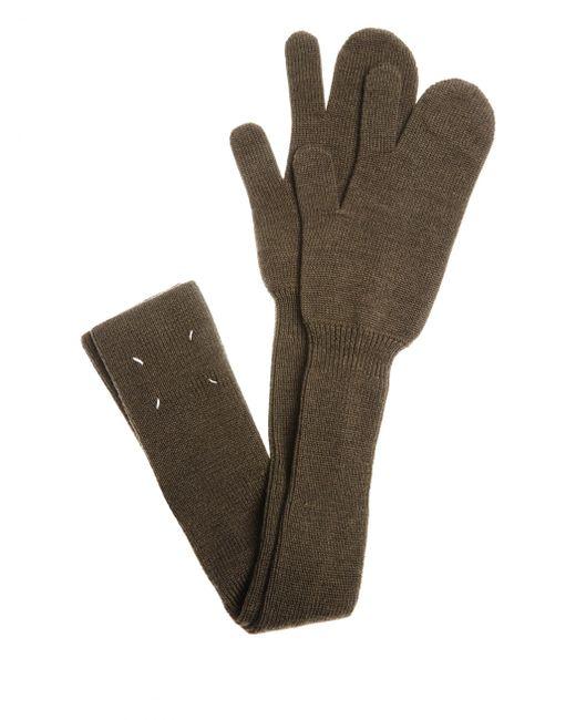 Maison Margiela - Multicolor Wool Gloves - Lyst