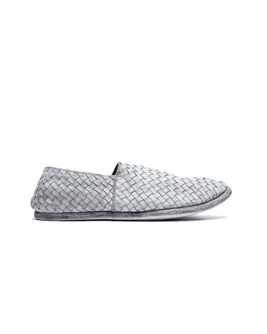 Guidi - Multicolor Leather Braided Slippers for Men - Lyst