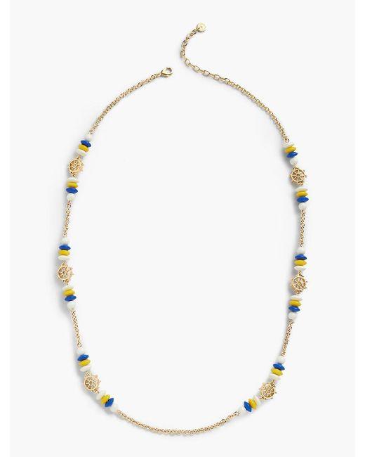 Talbots - Metallic Driftaway Layering Necklace - Lyst